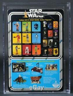 Star Wars Vintage Boba Fett 21 Back-A AFA 70 (70/80/85) MOC