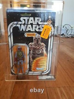 Star Wars Vintage Boba Fett 21 Back Moc Afa