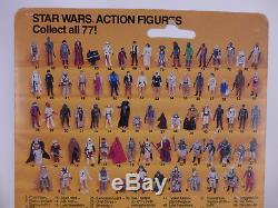 Star Wars Vintage Boba Fett Rotj 77 Back 1983 Moc