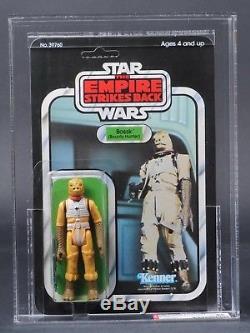 Star Wars Vintage Bossk ESB 31 Back-A AFA 85 (85/85/90) Unpunched MOC