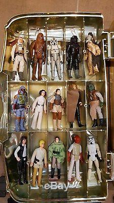 Star Wars Vintage C-3PO Case mit Figuren