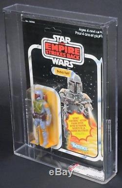 Star Wars Vintage Canadian Boba Fett ESB 21 Back AFA 80 (80/85/80) Unpunched MOC