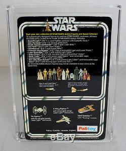 Star Wars Vintage Carded 12 Back-A Palitoy Darth Vader AFA 75 EX+/NM #11753974