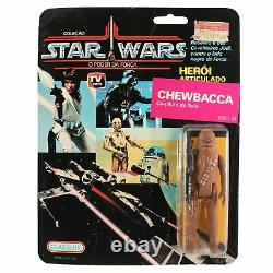 Star Wars Vintage Chewbacca Glasslite MOC