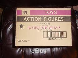 Star Wars Vintage Collection ASST W2 FACTORY SEALED CASE, 12 ACTION FIGURES LOT