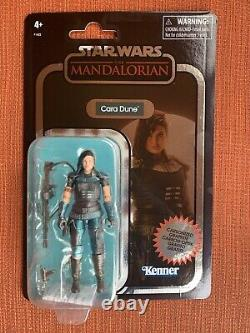 Star Wars Vintage Collection Cara Dune The Mandalorian Carbonized GINA CARANO