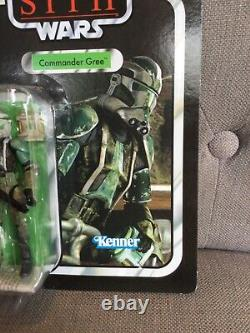 Star Wars Vintage Collection. Clone Commander gree. 2010. VC43. Great Condition