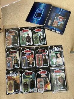 Star Wars Vintage Collection Figures Job Lot Including Rare Jocasta Nu