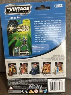 Star Wars Vintage Collection. JANGO FETT VC 34 MINT ON CARD