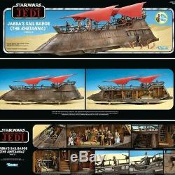 Star Wars Vintage Collection Jabba's Sail Barge Khetanna, Yakface Haslab In Hand
