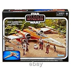 Star Wars Vintage Collection Rise of Skywalker Poe Damerons X-Wing Fighter Toys