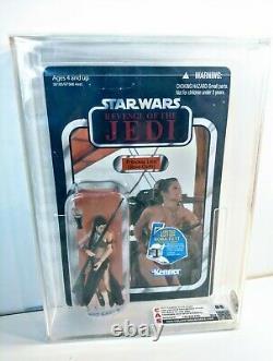 Star Wars Vintage Collection VC64 Unpunched Graded CAS AFA 85 Slave Leia Revenge