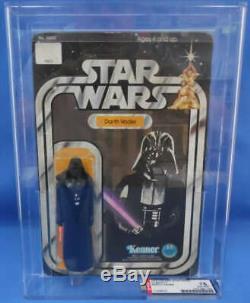 Star Wars Vintage Darth Vader AFA 75 1978 Kenner 12 Back C Unpunched