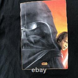 Star Wars Vintage Episode 3 T Shirt Darth Vader Anakin Skywalker Size XL