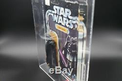 Star Wars Vintage Figure Kenner Darth Vader 12 Back-A AFA 80 NM 80/80/90 1978