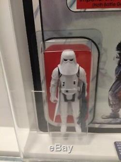 Star Wars Vintage Imperial Stormtrooper Hoth Graded Ukg 95 Not Afa 65 Back