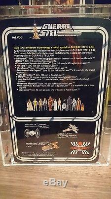 Star Wars Vintage Italien HARBERT Chewbacca Moc UKG (no AFA) 85%