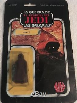 Star Wars Vintage Jawa LILI Ledy Half Lifted Bubble 100% Original