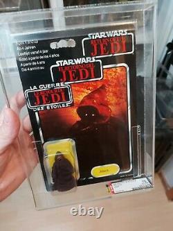 Star Wars Vintage Jawa Trilogo MOC UKG 75
