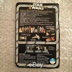 Star Wars Vintage Kenner 1977 Darth Vader Mint On Card 12 Back Version C
