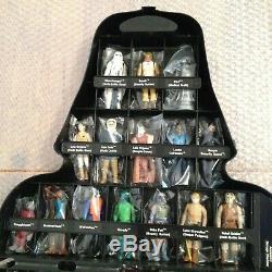 Star Wars Vintage Kenner Darth Vader Case Promotion Filled With Figures