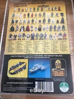 Star Wars Vintage Kenner Farmboy Luke Skywalker On ROTJ carded