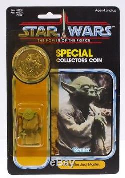 Star Wars Vintage Kenner POTF Yoda MOC