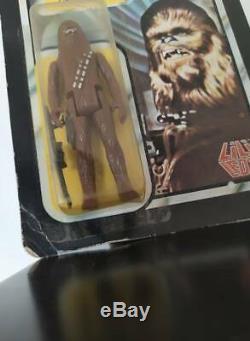 Star Wars Vintage Lili Ledy Chewbacca 50 Back Moc Mexico Variant