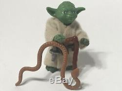 Star Wars Vintage Lili Ledy Yoda Complete with Snake & Cane Pacman Eyes Mexico