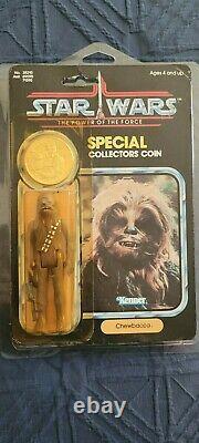 Star Wars Vintage POTF Chewbacca MOC