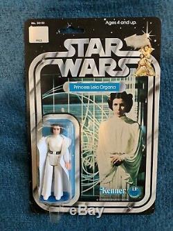 Star Wars Vintage Princess Leia 12 Back MOC Taiwan