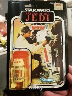 Star Wars Vintage R5-D4 MOC 77 Back