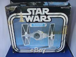 Star Wars Vintage Tie Fighter MIB withInsert Boxed Complete NICE