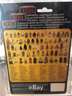 Star Wars Vintage Tri Logo Palitoy Last 17 Imperial Dignitary 70 Back Afa