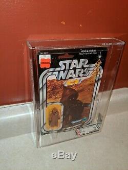 Star Wars Vintage Vinyl Cape Jawa 12 Back Canadian Kenner Canada Gde Moc Afa 80