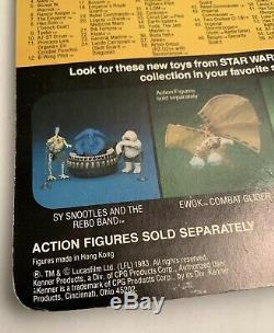 Star Wars Vintage Wicket W. Warrick 77 Back Return of the Jedi ROTJ Kenner MOC