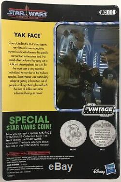 Star Wars Yak Face with Coin Vintage Collection Jabba's Sail Barge HasLab VC000