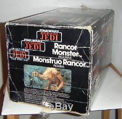 Star Wars vintage Kenner Rancor Monster figure, boxed