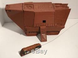 Star Wars vintage Remote Control Sandcrawler complete WORKS! Kenner Pics in desc
