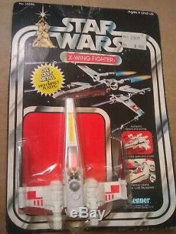 Star Wars vintage X Wing Fighter die cast 21 back MOC