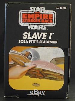 The Vintage Collection Boba Fett's Slave I Factory Sealed Mailer Box Star Wars