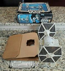 Tie Fighter 1978 STAR WARS Vintage Original COMPLETE 1ST BOX Working WHITE #3