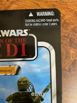 UNPUNCHED + OFFERLESS 2012 Star wars Vintage Collection Weequay VC107