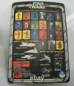 VINTAGE 1978 Star Wars Die Cast IMPERIAL Tie Fighter UNOPENED ON CARD