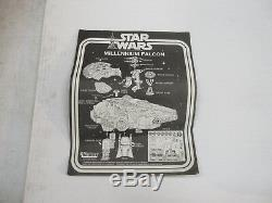 VINTAGE KENNER STAR WARS ESB MILLENIUM FALCON VEHICLE COMPLETE With BOX