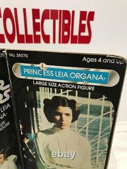 VINTAGE KENNER STAR WARS PRINCESS LEIA ORGANA 12 DOLL withORIGINAL BOX
