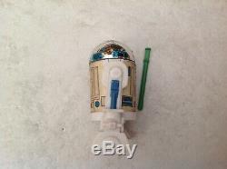 VINTAGE ORIGINAL STAR WARS R2-D2 Pop-up Lightsabre Action Figure Last 17 1985