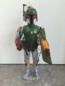 VINTAGE Star Wars BOBA FETT 12 Action Figure All Original&Complete 1979 KENNER
