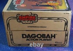 VINTAGE Star Wars COMPLETE & SEALED BOX DAGOBAH PLAYSET KENNER Yoda swamp 1981