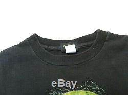 VTG 1995 Star Wars YODA Changes Black SS Big Graphic T-Shirt Size XL Made in USA